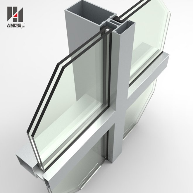 Visible frame Glass Curtain Wall