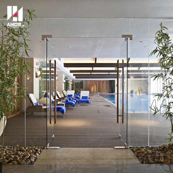 Best Frameless Tempered Glass Doors For Commercial Interior Office