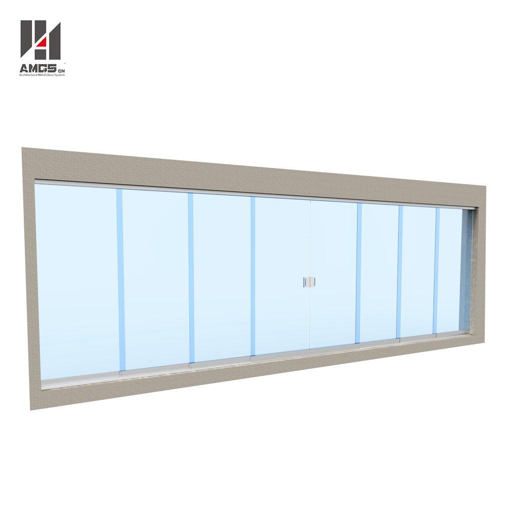 Find Modern Facade Design Frameless Sliding Glass Doors On Xuliang