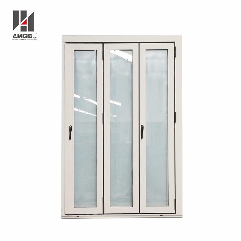 Exterior Commercial Aluminium Accordion Bifold Patio Doors With